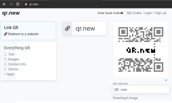 QR New UI