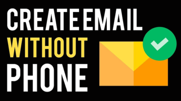 email without phone