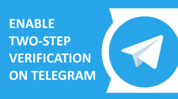 How to Enable Two-Step Verification on Telegram?