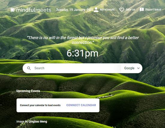 agenda in google meet