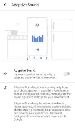 pixel 5 adaptive sound