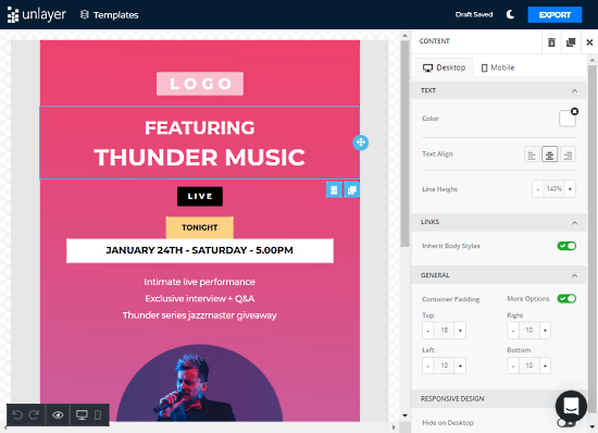customizable email templates for free