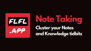 Free Online Paper-like Note Taking App to Cluster your Notes and Knowledge tidbits