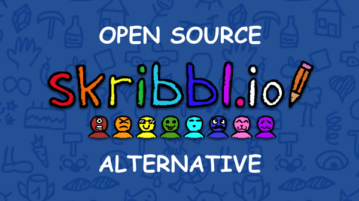 Free Open Source Alternative to Skribbl.io Online Drawing Game