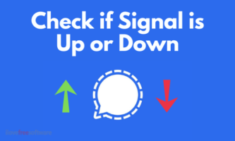 How to Check if Signal is Down or Up?