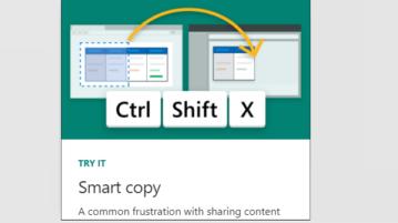 use Smart Copy Feature of Microsoft Edge