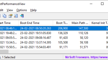 Free software to see Boot, Kernel, Drivers, Devices Init time in Windows 10