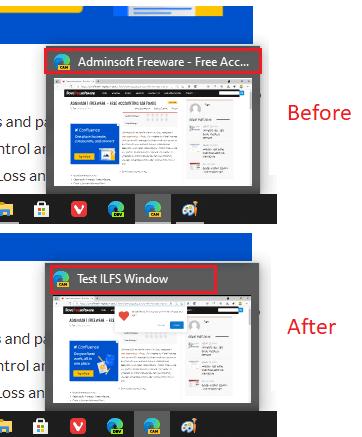 How to Rename a Window in Microsoft Edge