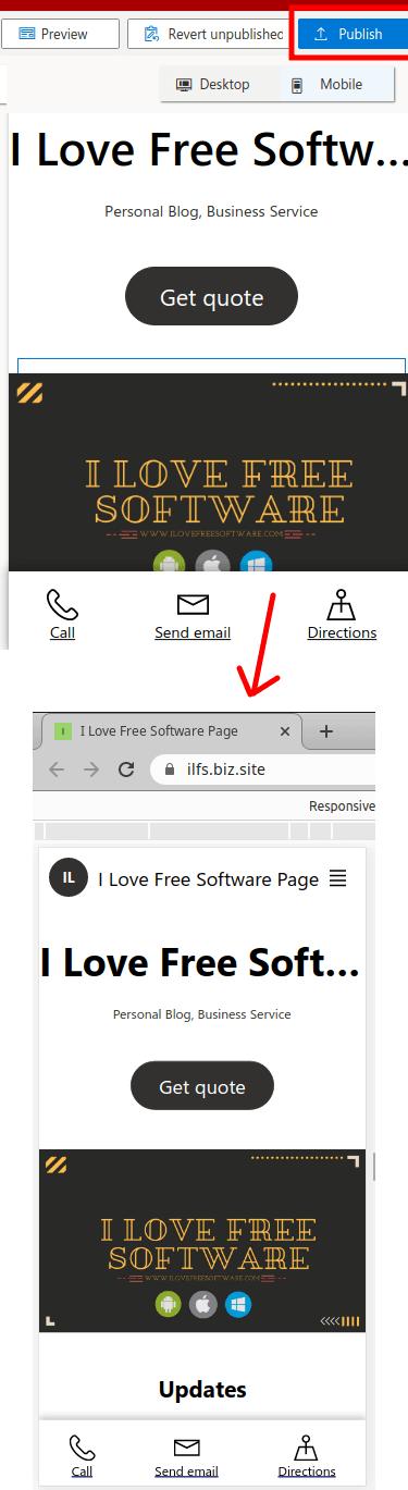 Microsoft digital marketing center website created