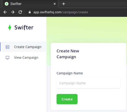 Swifter Dashboard