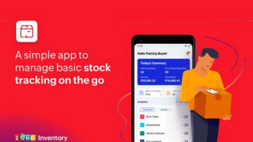 Free Zoho Inventory Stock Tracking App with Offline Mode