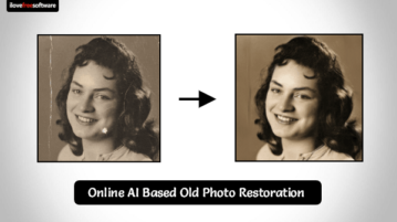 AI Based Old Photo Restoration Online Free