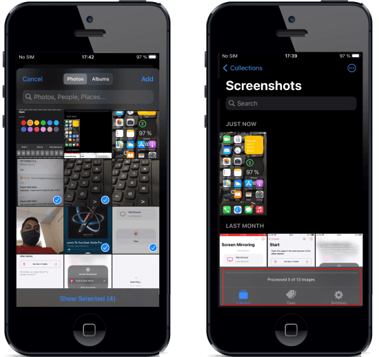 FlyScreen Select Screenshots