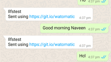 Free Open Source WhatsApp Auto Reply App for Android Watomatic