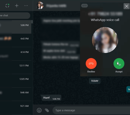 How to Make Audio and Video Calls on WhatsApp Desktop