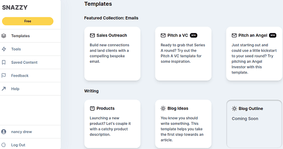 Snazzy AI Email Dashboard