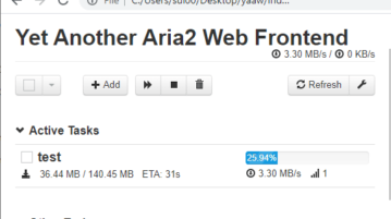 YAWW Aria 2 GUI Free
