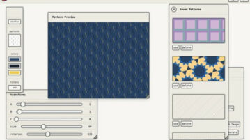 Free Online Pattern Generator with SVG, PNG, JPEG Export