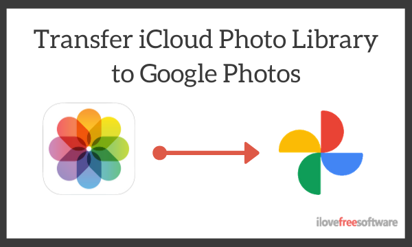 How to Transfer iCloud Photo Library to Google Photos?