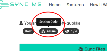 joining code quick sync