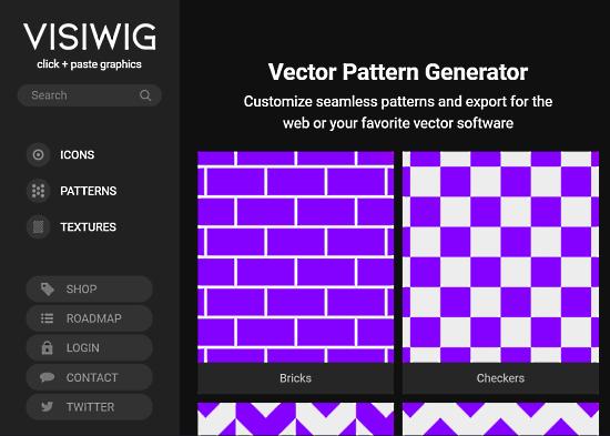 no attribution vector pattern generator