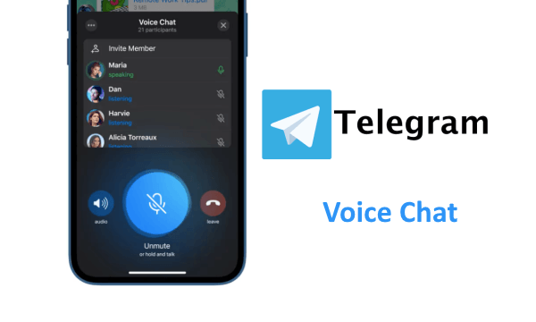 How to Use ClubHouse-like Voice Chat on Telegram?