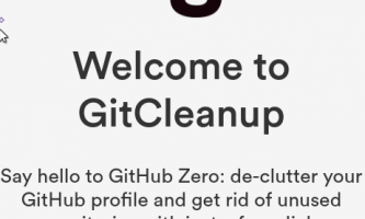 Delete Unused GitHub Repositories in Bulk with this Free Online Tool