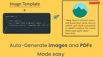 Free Automated Social Media Post Creator API with Templates APITemplate