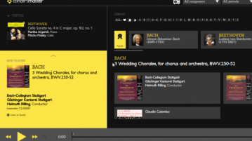 Free Classical Music Streaming website Based on Spotify Concertmaster