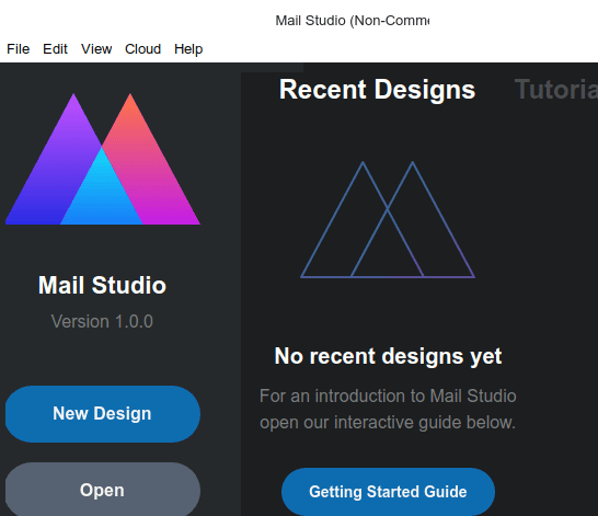 Mail Studio Getting Started