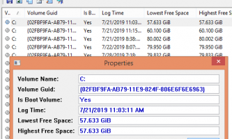 Log free Disk space on Windows 10 with this Free Tool by Nirsoft