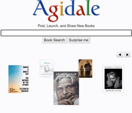 Post, Share, Launch New Books on this Free Website: Agidale