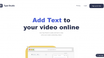 Customize your video by adding text overlays online
