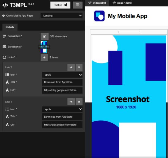 T3MPL main UI