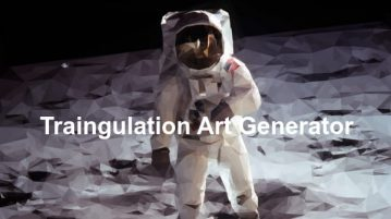 Triangulation Art Software to Generate Triangulated Art From Images