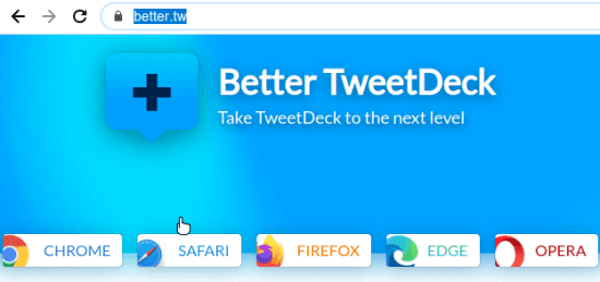 better tweetdeck install
