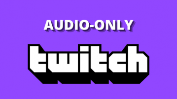 Enable Twitch Radio Mode to Play Stream Audio in Background