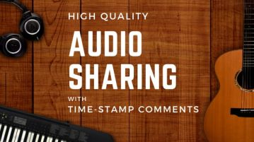 Free Online Audio File Sharing with Time-stamp Comments