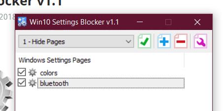 Blocklist created
