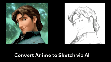 Convert Anime to Sketch with this Free AI based Tool
