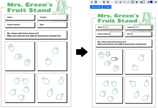 Convert PDF Into Online Activity for Kids Free Teacher Made
