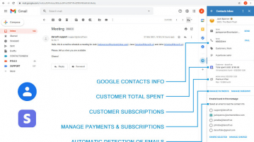 Free Gmail CRM Addon to Create Google Contacts from Gmail Emails