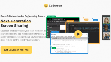 Free Multi User Screen Sharing Tool with Audio, Video Chat CoScreen