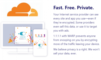 Free VPN for Desktop by Cloudflare for Privacy, Security and Speed: WARP
