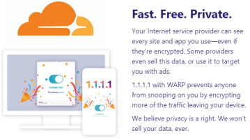 Free VPN for Desktop by Cloudflare for Privacy, Security and Speed WARP