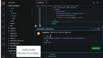 Free VS Code Plugin to Create Guided Code Walkthroughs CodeTour