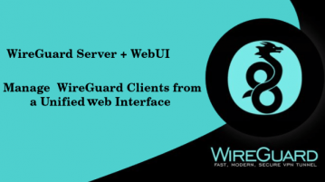 Free Wireguard GUI to Install, Manage WireGuard VPN Server wg-easy