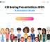 Create Animated presentations free with Avatars and Gifs: Animaker Deck