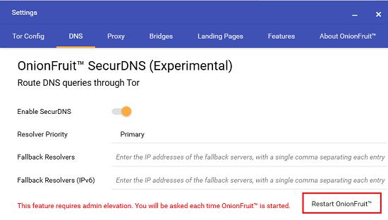 Onion Fruit DNS