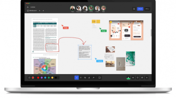 Online Whiteboard with Audio Call, Infinite Canvas, PDF Collaboration
